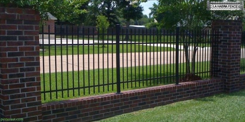 10 Brick Iron Fence Designs to Add Elegance to Your Property