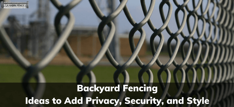 Backyard Fencing