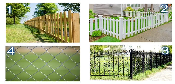 Top 4 Residential Fences