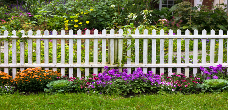 Keep Objects Away from Fence Row