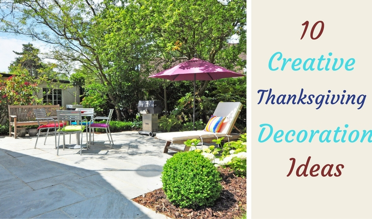 Creative Thanksgiving Decoration Ideas for Your Yard