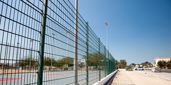 Large Protective Fence