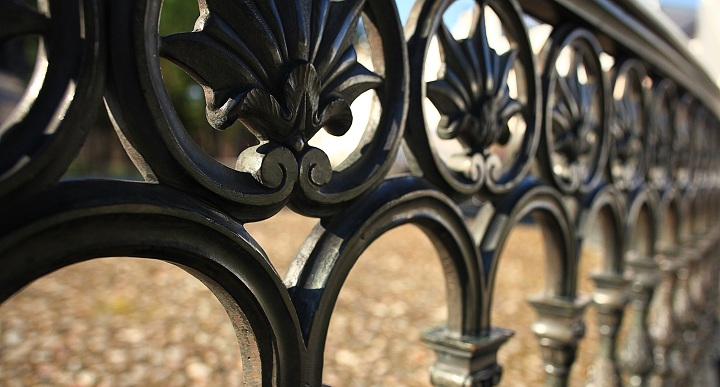 Molded Iron Fence