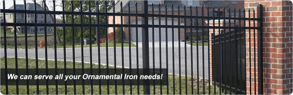 Ornamental Iron Fencing in Orange County