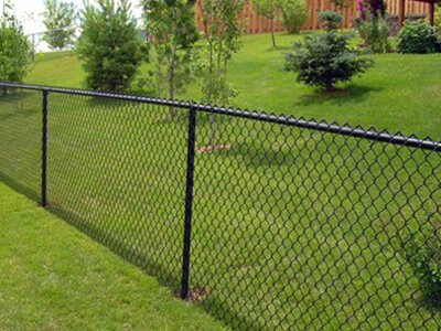 Black Vinyl Chainlink Fence Dakotaunlimited