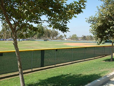 Baseball Windscreen And Fence